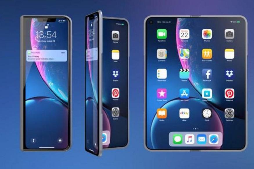इतर कंपन्या फोल्डेबल फोन बाजारात आणण्यासाठी शर्यतीत उतरल्या असताना अॅपलही मागे नाही. रिपोर्ट्सनुसार अॅपलसुद्धा फोल्डेबल स्मार्टफोन बाजारात आणण्यासाठी प्रयत्न सुरू केले आहेत. मात्र अॅपलकडून फोल्डेबल मोबाइल निर्मिती करण्यास बराच वेळ घेतला जाऊ शकतो.