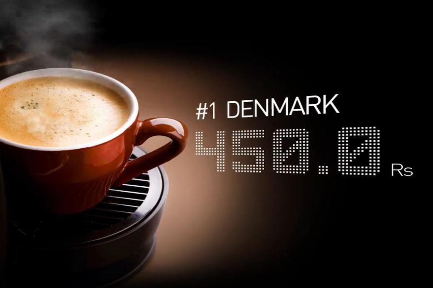 जगात सर्वात महागडी कॅपेचिनो कॉफी ही डेनमार्कमध्ये विकली जाते. इथे एका कॉफीची किंमत 450 रुपये आहे.