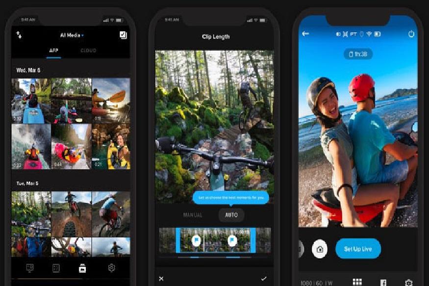 GoPro Quik : मोबाइलवर व्हिडिओ एडिटिंगसाठी हे जबरदस्त अॅप आहे. यावरून एडिट केलेल्या व्हिडिओवर टेक्स्ट टाकता येतं. तसंच हे व्हिडिओ शेअरही करता येतात. या अॅपमध्ये एकूण 23 स्टाइल मिळतात. त्याचा वापर करून एडिटिंग करता येतं.