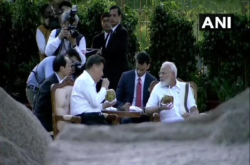 नरेंद्र मोदी आणि शी जिनपिंग यांच्या भेटीकडे सगळ्या जगाचं लक्ष लागलं होतं.