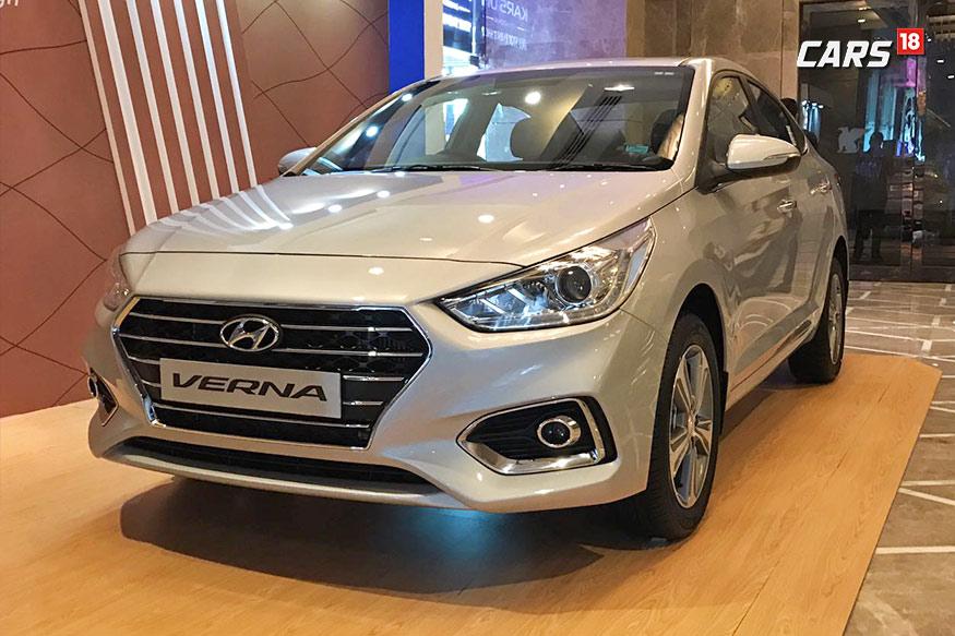 VERNA: या गाडीची एक्स शोरूम दिल्लीतील किंमत 8.17 लाखांपासून 14 लाख रुपयांपर्यंत आहे. यातील पेट्रोल आणि डिझेलच्या दोन्ही प्रकारच्या मॉडेल्सवर 90 हजारांचे फायदे आहेत.