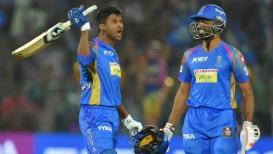कृष्णप्पा गौतमची धडाकेबाज फलंदाजी, राजस्थानचा मुंबई इंडियन्सवर 'रॉयल विजय'
