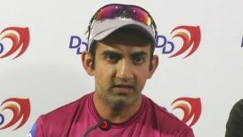 गौतम गंभीरने दिला दिल्ली डेयरडेव्हिल्सच्या कर्णधारपदाचा राजीनामा