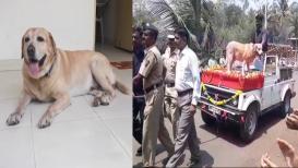'मार्शल'ची थाटात सेवानिवृत्ती, सांगली पोलिसांकडून लाडक्या मित्राला निरोप