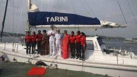 पृथ्वी प्रदक्षिणा पूर्ण करुन परतल्या नौदलाच्या 6 रणरागिणी, संरक्षण मंत्र्यांनी केलं स्वागत