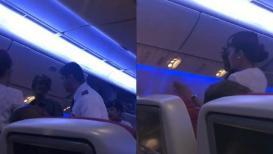 VIDEO सिरोंजला जाणाऱ्या विमानात चढला भिकारी आणि...!