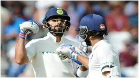 IND vs ENG : ट्रेंट ब्रिजच्या सामन्यात विराटचं शतक हुकलं, भारताचा स्कोर 307/6