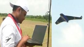 VIDEO : लातूरमध्ये देशातील ड्रोन फार्मिंगचं पाहिलं प्रात्यक्षिक यशस्वी