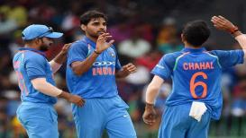 LIVE : INDvsAUS : भारताची धडाकेबाज सुरूवात, ऑस्ट्रेलियाला पहिला धक्का