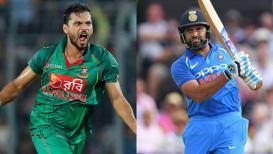 Live Cricket Score, India vs Bangladesh, Asia Cup 2018: बांग्लादेशला झटके पे झटका,  नजमुल हुसैन शंटो आऊट