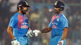 Live Cricket Score, India vs Bangladesh, Asia Cup 2018: भारताच्या 50 धावा पूर्ण,रोहित-शिखरची जोरदार फटकेबाजी