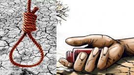 धुळ्यात दोन तरुण शेतकऱ्यांची आत्महत्या