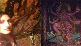 नाईट क्लबच्या वॉशरूममध्ये लावले देवी-देवतांचे फोटो, मुलीने अशी घेतली शाळा