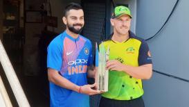 Ind vs Aus 1st t20 Live- भारताने नाणेफेक जिंकत घेतला गोलंदाजीचा निर्णय