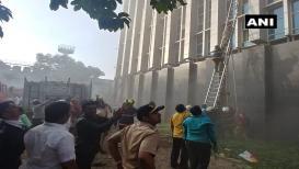 अंधेरीतल्या रुग्णालयातील भीषण आगीचा EXCLUSIVE VIDEO