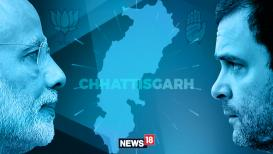 Assembly Election Result 2018 Live छत्तीसगडमध्ये भाजप-16, काँग्रेस - 14,  इतर-1 जागांवर आघाडीवर