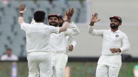 Live Cricket Score, India vs Australia 2nd Test, 4th Day- ऑस्ट्रेलिया २४३ वर ऑल- आऊट, भारतासमोर २८६ धावांचं लक्ष्य