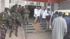 जम्मू-काश्मीरमध्ये दहशतवाद्यांचा मोठा हल्ला, 3 पोलीस जागीच ठार