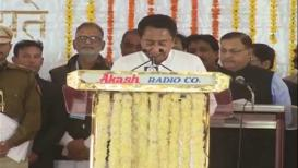 कमलनाथ मध्य प्रदेशचे 18 वे मुख्यमंत्री, शपथविधी समारंभाला विरोधकांची एकजूट