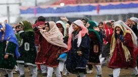 जम्मू आणि काश्मीर : हाडं गोठविणाऱ्या थंडीतली 'प्रजासत्ताक दिना'ची तयारी!