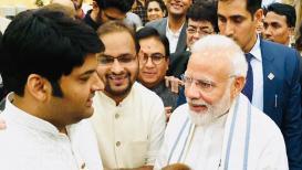 कपिल शर्माने केलं पंतप्रधान मोदींच्या 'सेन्स ऑफ ह्युमर'च कौतुक