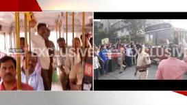 VIDEO : संप मिटल्यानंतर वडाळा डेपोतून निघाली पहिली 'बेस्ट'