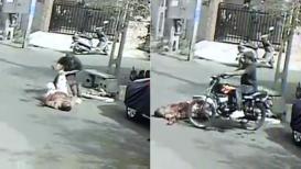 Live Murder Video: 30 वेळा मित्राला भोसकलं, नंतर अंगावर गाडी घालून निघून गेला...!
