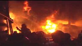 VIDEO: बांग्लादेशमध्ये भीषण आग, 56 जणांचा मृत्यू