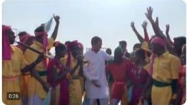 पुलवामा हल्ल्यानंतर राहुल गांधी नृत्य करत होते, भाजपने केला PHOTO VIRAL