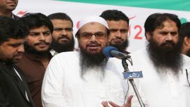 मुंबई हल्ल्याचा मास्टर माईंड हाफीज सईदच्या संघटनेवर पाकिस्तानची बंदी