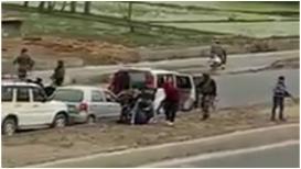3 दहशतवाद्यांना पोलिसांनी केली अटक, पहिल्यांदा समोर आला LIVE VIDEO