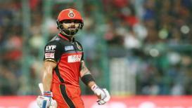 IPL 2019 : बंगळुरूला पहिला झटका, कोहली अडकला फिरकीच्या जाळ्यात