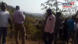 तोरंगणा घाटात खासगी बस दरीत कोसळली, घटनास्थळावरचा पहिला VIDEO