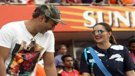 सानिया मिर्झाची बहीण 'या' क्रिकेटरच्या मुलाच्या प्रेमात