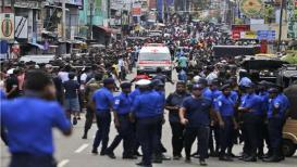 श्रीलंकेत संचारबंदीसह सोशल मीडिया वापरावर निर्बंध, बॉम्बस्फोटात 190 जणांचा मृत्यू