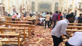 साखळी बॉम्बस्फोटांनी श्रीलंका हादरले, इस्टर संडेला दोन चर्चवर हल्ला