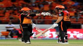 IPL 2019 : डेव्हिड-बेअरस्टो जोडी हिट, हैदराबादचा कोलकातावर एकहाती विजय