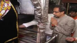 VIDEO: वाराणसीत उद्धव ठाकरेंनी घेतलं कालभैरवाचं दर्शन