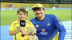IPL 2019 : ज्यु. वॉटसन म्हणतो...बाबा नाही तर 'हा' खेळाडू आवडता
