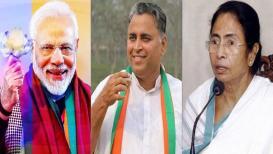 ममतांच्या बालेकिल्ल्याला सुरुंग, 'या' मराठी माणसामुळे बंगालमध्ये 'कमळ' फुलणार?