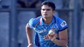 अर्जुन तेंडुलकरवर बरसला 'हा' मुंबईकर खेळाडू, 57 चेंडूतच ठोकले शतक