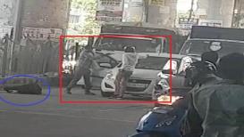VIDEO: द्वारका मेट्रो स्टेशनजवळ अंदाधुंद गोळीबार, दोघांचा मृत्यू