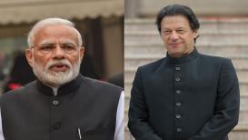 इम्रान खान यांनी केलं मोदींचं अभिनंदन, पंतप्रधान म्हणाले आम्हालाही शांतता पाहिजे