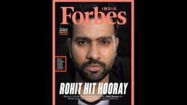 मुंबईकर रो'हिट' शर्मा झळकला Forbes मासिकाच्या कव्हरवर, फॅन्स विचारतात चौथी डबल सेंच्युरी कधी ?