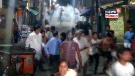 VIDEO: पश्चिम बंगालमध्ये धुमश्चक्री, अर्जुन सिंह यांच्या ताफ्यासमोर अज्ञातांचा हल्ला