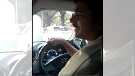 VIRAL VIDEO हा कॅब ड्रायव्हर बोलतो अस्खलित संस्कृत; सोशल मीडियावर होतेय चर्चा