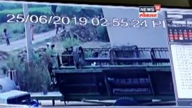 वीज पडून युवकाचा मृत्यू; अंगावर काटा आणणारा VIDEO समोर