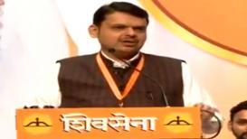 VIDEO : पुढचा मुख्यमंत्री कुणाचा? फडणवीसांचं UNCUT भाषण