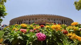 प्रदुषण टाळण्यासाठी तब्बल 46 खासदार संसदेत येतात 'या' खास वाहनाने