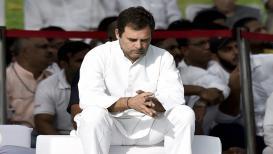 'माझा निर्णय झाला आहे!' राहुल गांधी राजीनाम्यावर ठाम